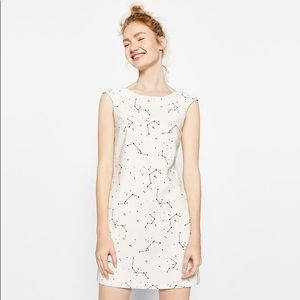 Zara constellation mini dress 💫